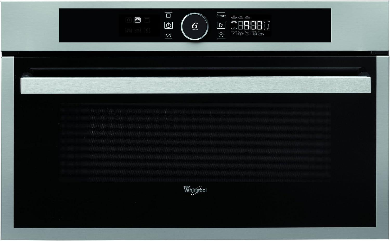 Whirlpool AMW 731 IX Eléctrico 31L 2300W Acero inoxidable - Horno (Electric oven, 31 L, 2300 W, 31 L, 2300 W, 800 W)