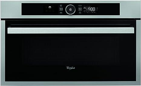 Opinión sobre Whirlpool AMW 731 IX Eléctrico 31L 2300W Acero inoxidable - Horno (Electric oven, 31 L, 2300 W, 31 L, 2300 W, 800 W)
