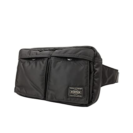 3c8a9a5512 Amazon.com  Yoshida Bag Porter Tanker Waist Bag 622-08723 Black from Japan   Office Products
