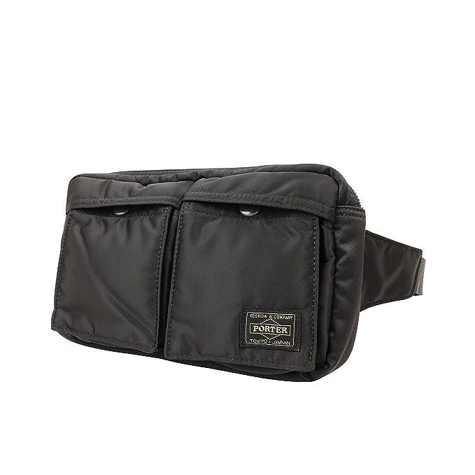 0633d7d7dfe Amazon.co.jp: Yoshida Bag Porter Tanker Waist Bag 622-08723 Black from Japan   文房具・オフィス用品