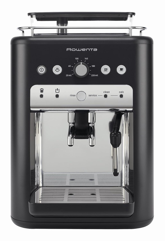 Rowenta es6910pn Espresso automática 1,3 L negro acero inoxidable ...
