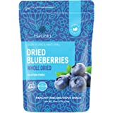 Dried Blueberries No Sugar Added, 16 oz. Whole Dry Blue Berries, Bulk Dried Blueberries Unsweetened, Dehydrated Blueberries,