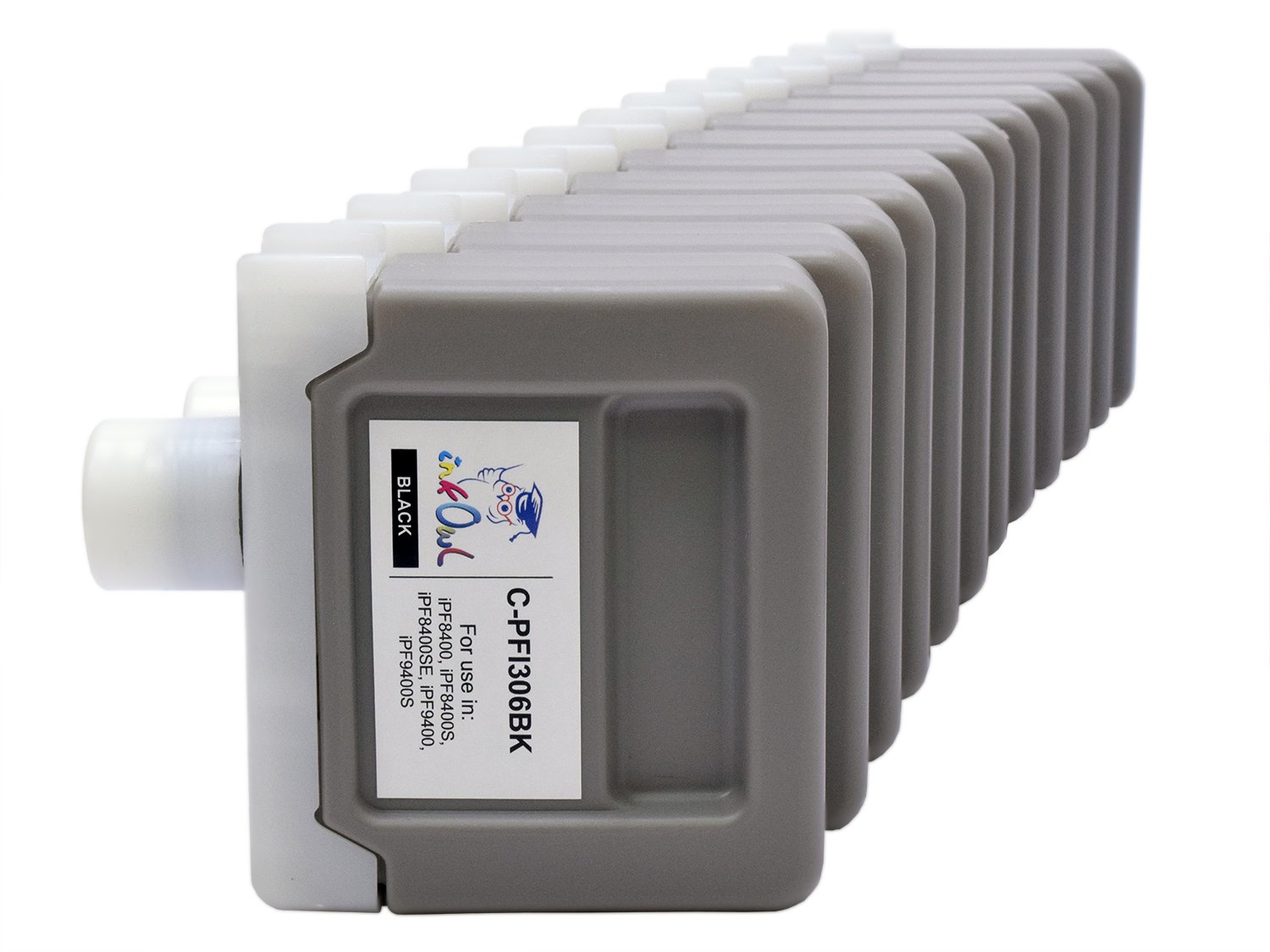 InkOwl - Compatible Ink Cartridge Replacement for CANON PFI-306 (330ml, 12-pack) for iPF8400, iPF9400 printers