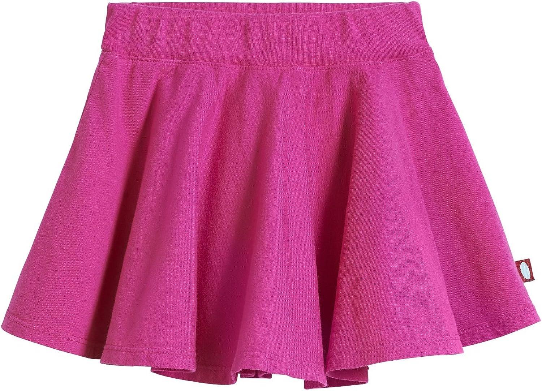 City Threads Girls' 100% Cotton Twirly Skirt Skater Circle Skirt School or Play: Clothing