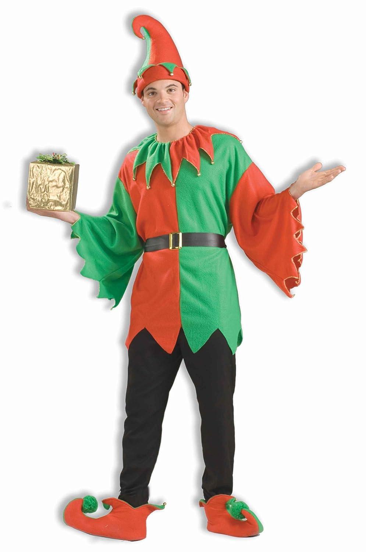 amazoncom forum novelties mens unisex elf costume multi one size clothing - Christmas Elf Costume