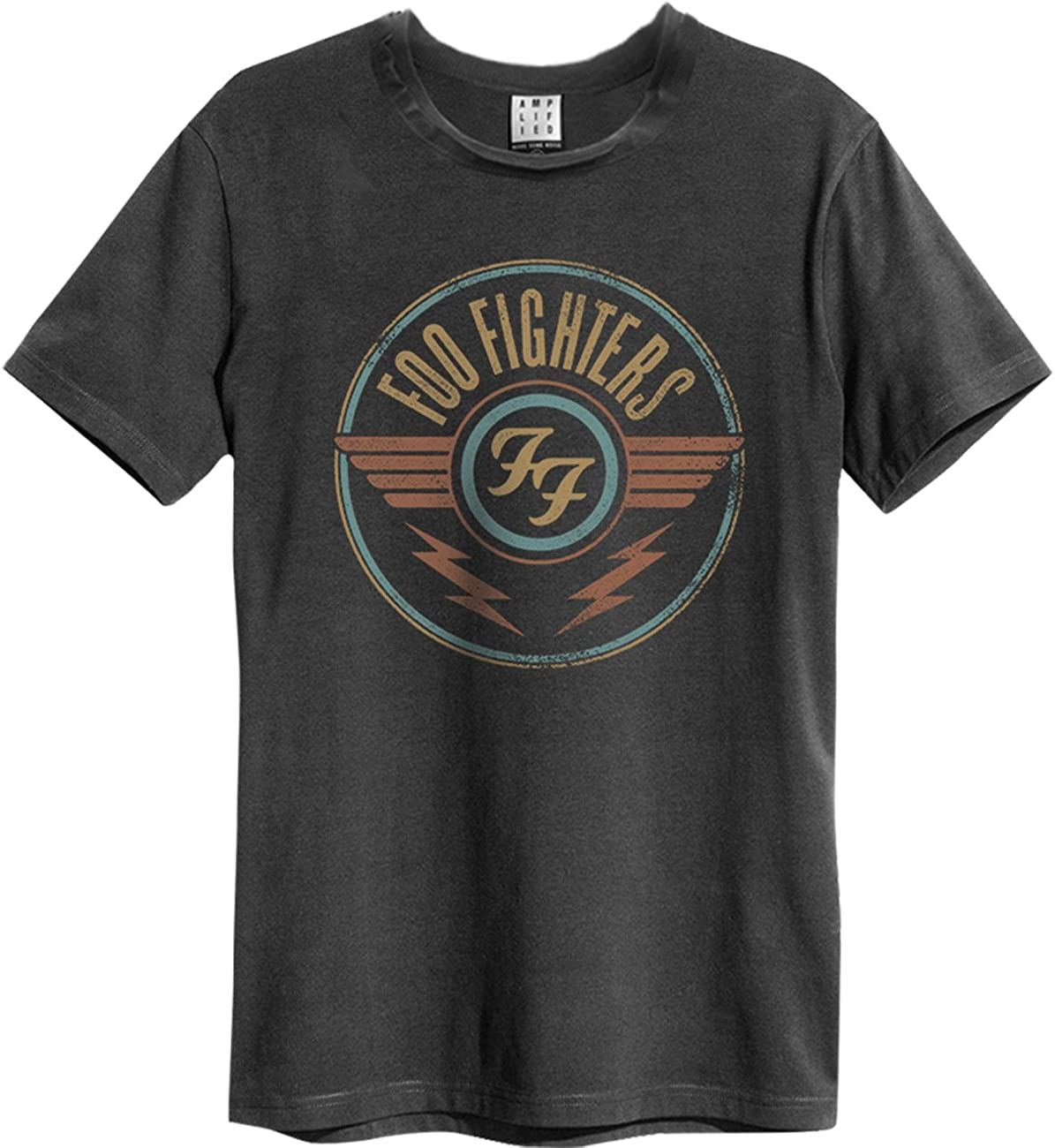 Amplified Mens Foo Fighters-ff Air T-Shirt