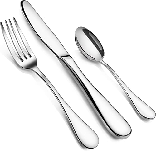 Artaste 59380 Rain 18/10 Stainless Steel Flatware 36-Piece Set