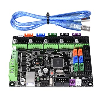 BIQU MKS Gen L V1 0 3D Printer Integrated Motherboard Controller PCB Board  A4988/DRV8825/TMC2208/TMC2130 Like Ramps 1 6 MKS Gen V1 4 Mainboard