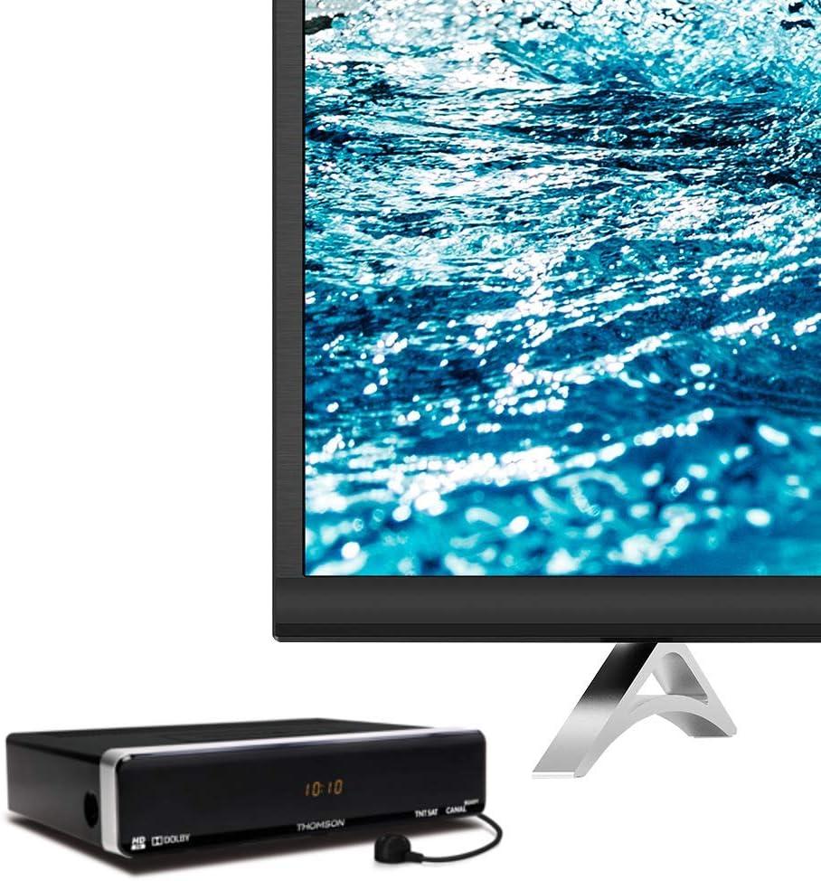 Thomson THS801 - Receptor de TV por satélite (conexión HDMI), negro [importado]: Amazon.es: Electrónica