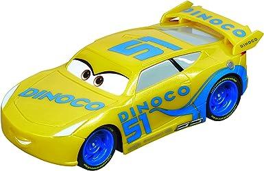 Carrera 64083 Go Disney Pixar Cars 3 Dinoco Cruz Slot Car Racing Vehicle Multi Toys Games