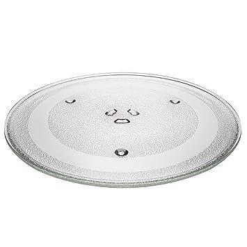 KHY - Bandeja giratoria de cristal para horno microondas para ...