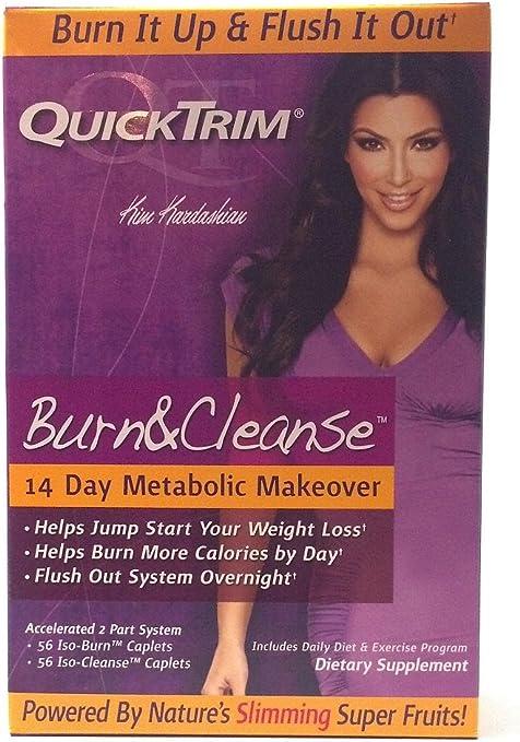 Amazon Com Quick Trim Quicktrim Burn And Cleanse 14 Day Metabolic