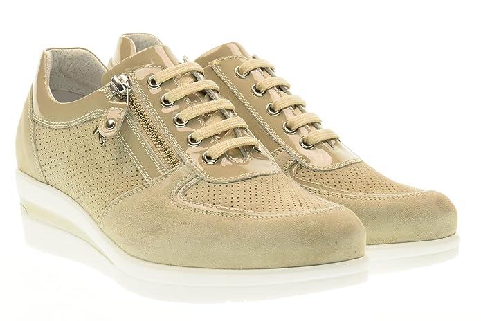 Recomendar Nueva Línea NERO GIARDINI donna sneakers bassa con zeppa P717951D/410 taglia 36 Sabbia Precio Barato De Moda 7XEjp
