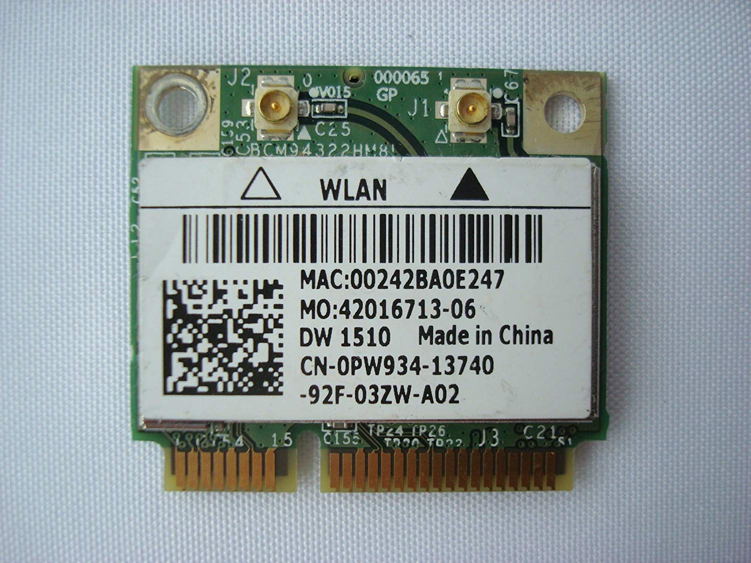 DELL WLAN 1510 DRIVERS FOR WINDOWS 10