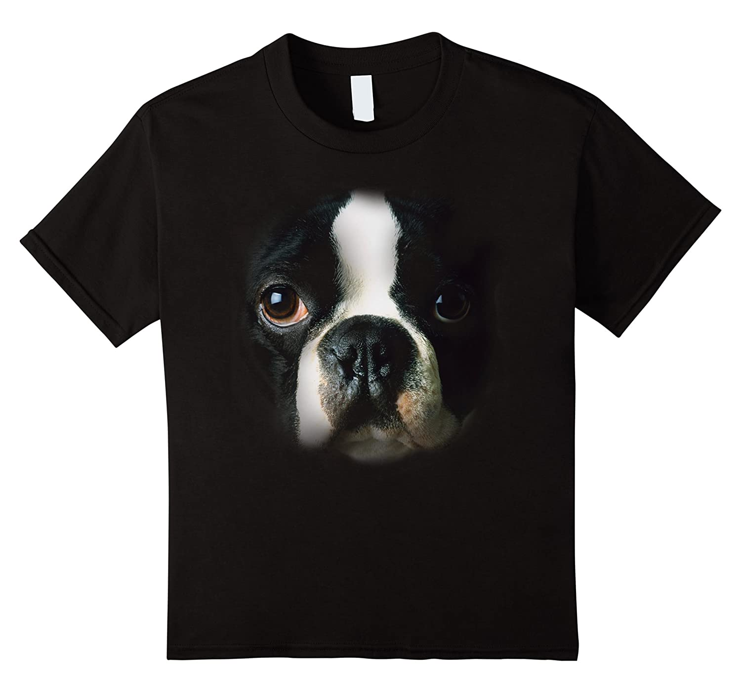 Boston Terrier Face T shirt