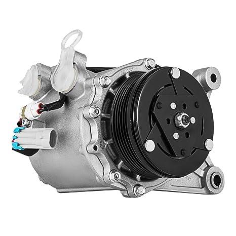 succebuy AC Compresor para Chevrolet Uplander/Montana Compresor AC Embrague 2006 – 2009 aire acondicionado
