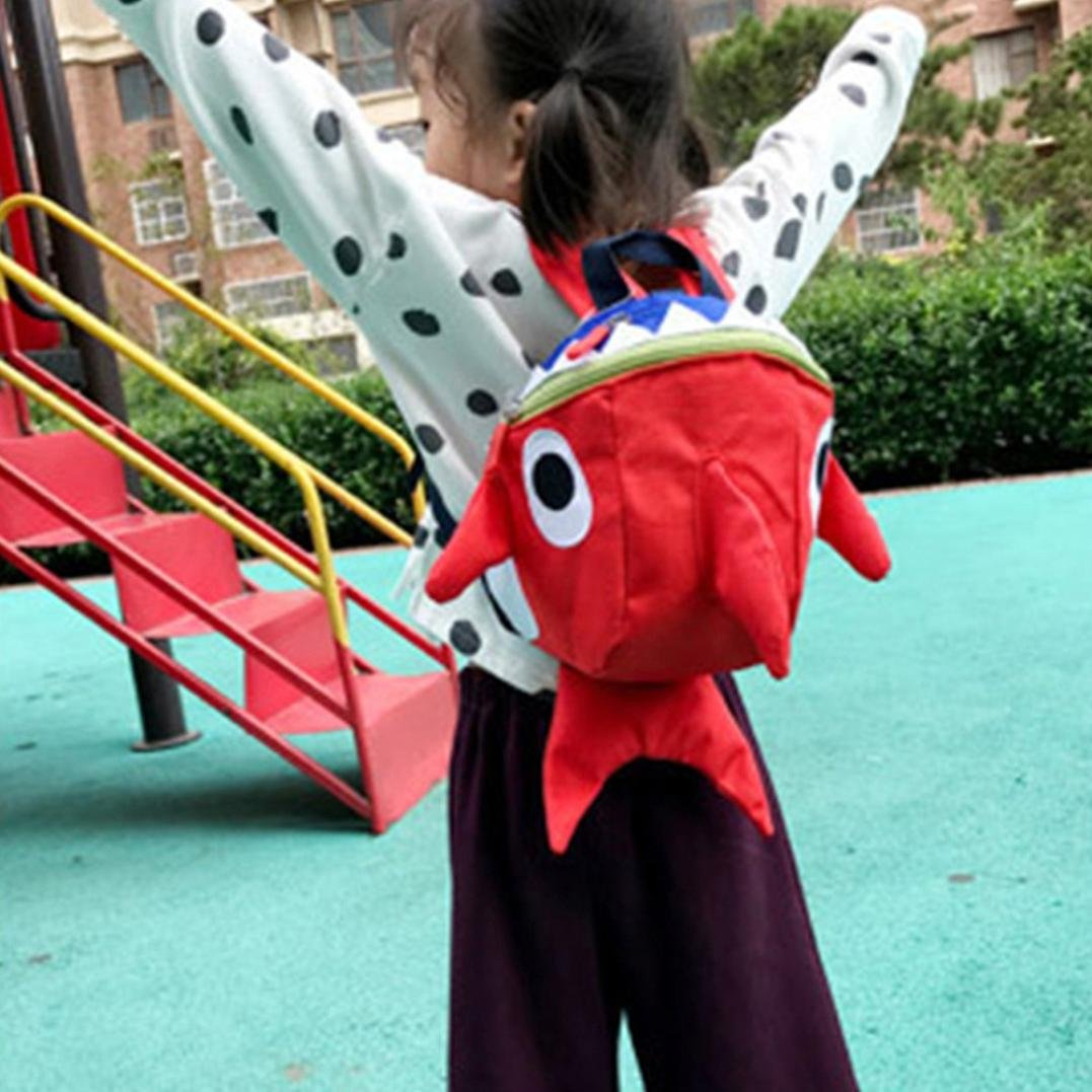 Mochilas Infantiles, ❤ Amlaiworld Mochilas Infantiles niño niña Guarderia Mochila de Jardín de Infantes Animal de Dibujos Animados Preescolar Niños ...