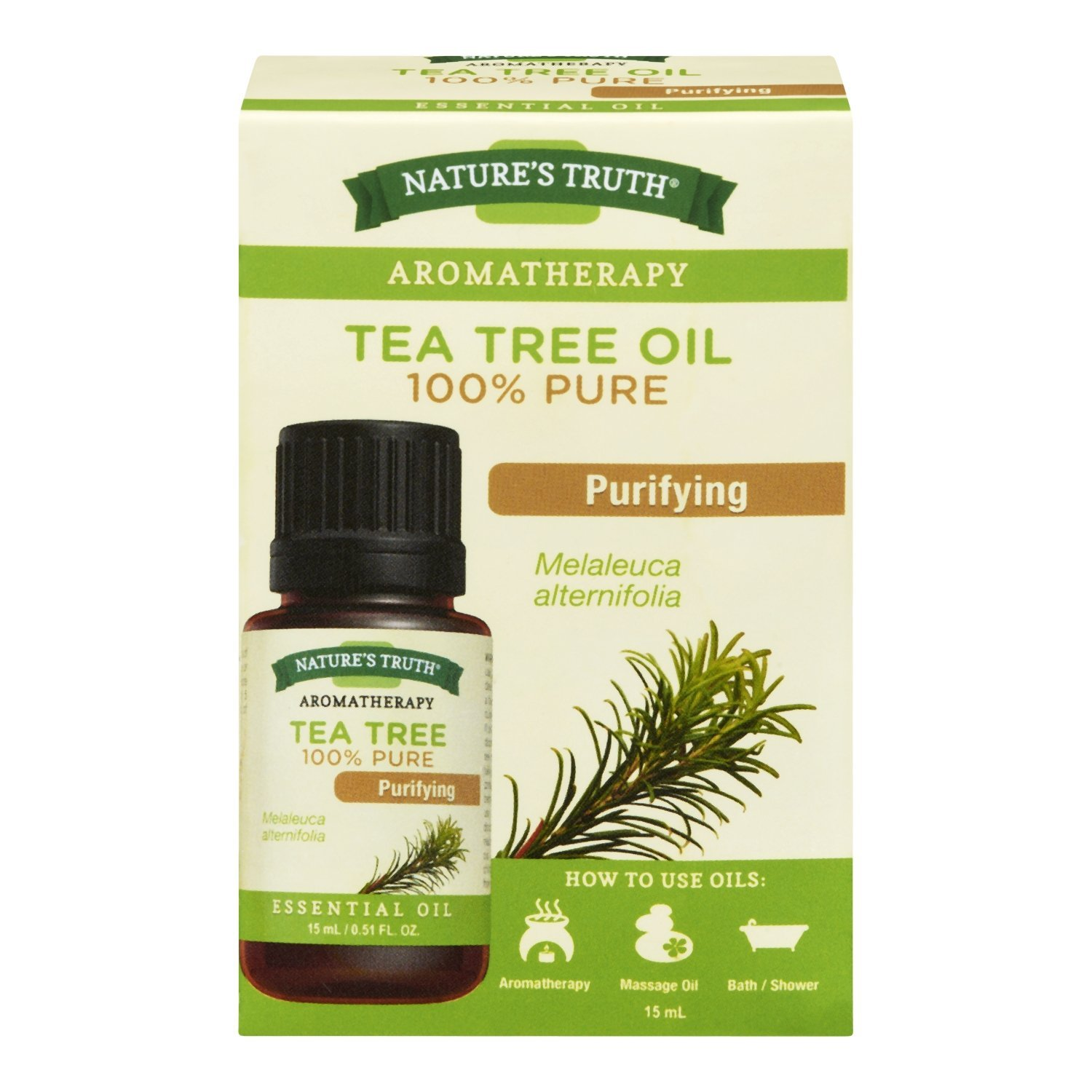 Nature's Truth Essential Oil - Tea Tree Oil 1 Count Nature' s Truth