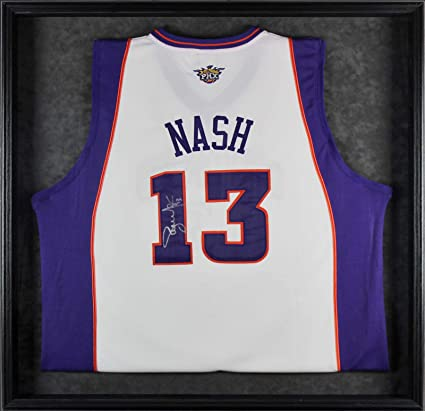 wholesale dealer 27ff0 a5e1e Steve Nash Autographed Jersey - Framed White BAS #A68532 ...