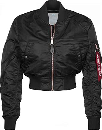 Alpha Industries - Chaquetas Bomber - Black/Copper