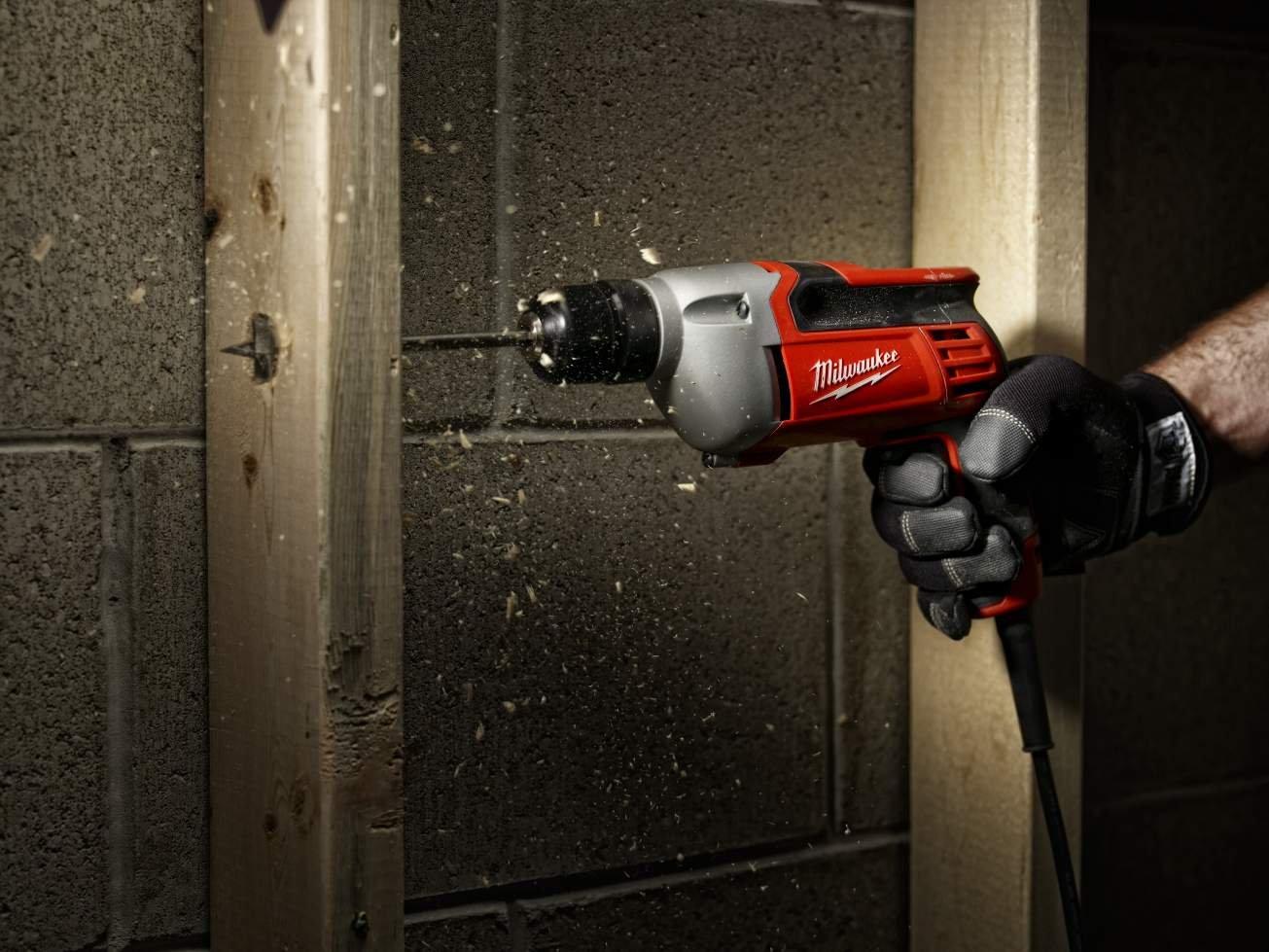 Milwaukee 0240-20 3/8-Inch Drill