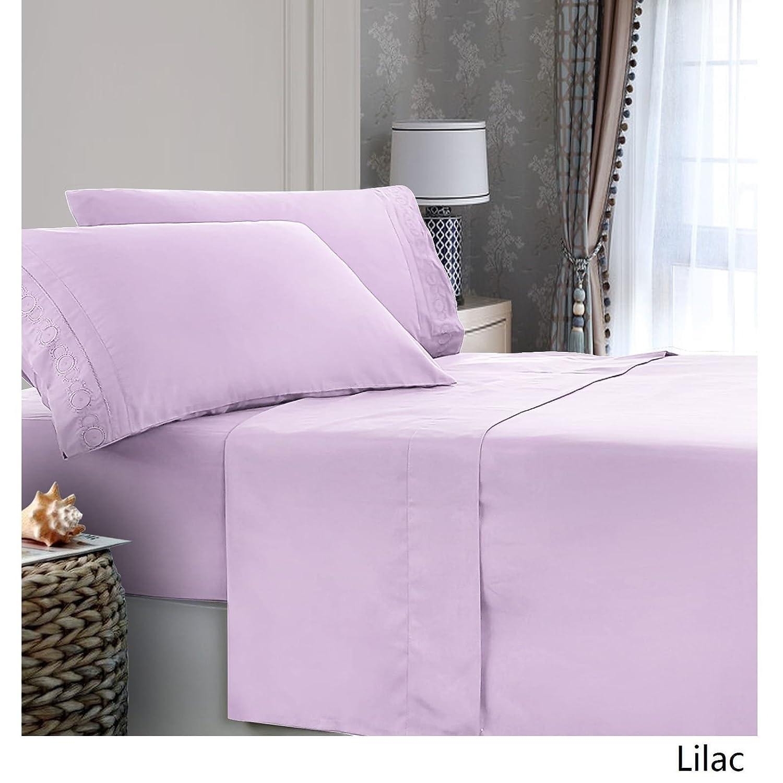 Lila Renoir Fashion Inc. Verno MF-K Liliac Sheet Set King