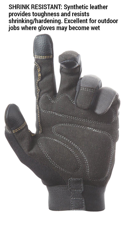 CLC 125L Handyman Flex Grip Work Gloves, Shrink Resistant, Improved Dexterity, Tough, Stretchable, Excellent Grip 7