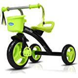 INFANS Lightweight Tricycle for Toddler & Children Age 2-5 Years, Kids 3 Wheels Pedal Trick with Inflation-Free Tires…
