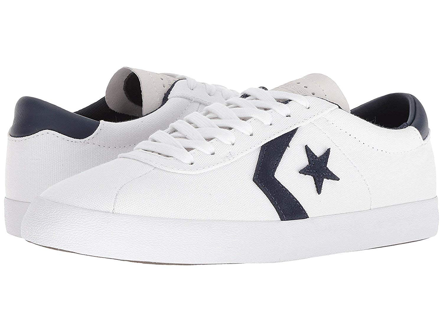 c03d5b420c0e29 Converse Women s Breakpoint Pro Ox Ankle-high Canvas Fashion Sneaker White  White Obsidian 5 D US  Buy Online at Low Prices in India - Amazon.in