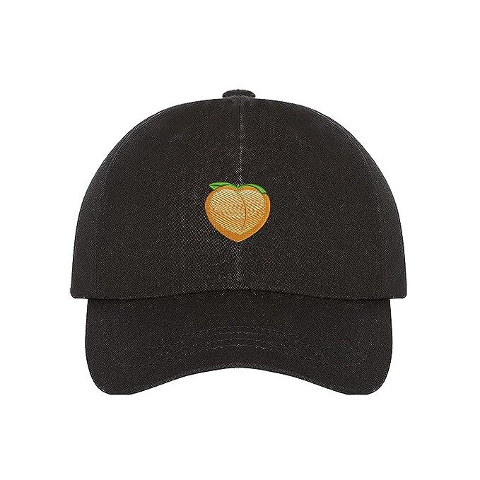 aa638b440c8f1 Amazon.com  Prfcto Lifestyle Peach Dad hat - Black baseball cap ...