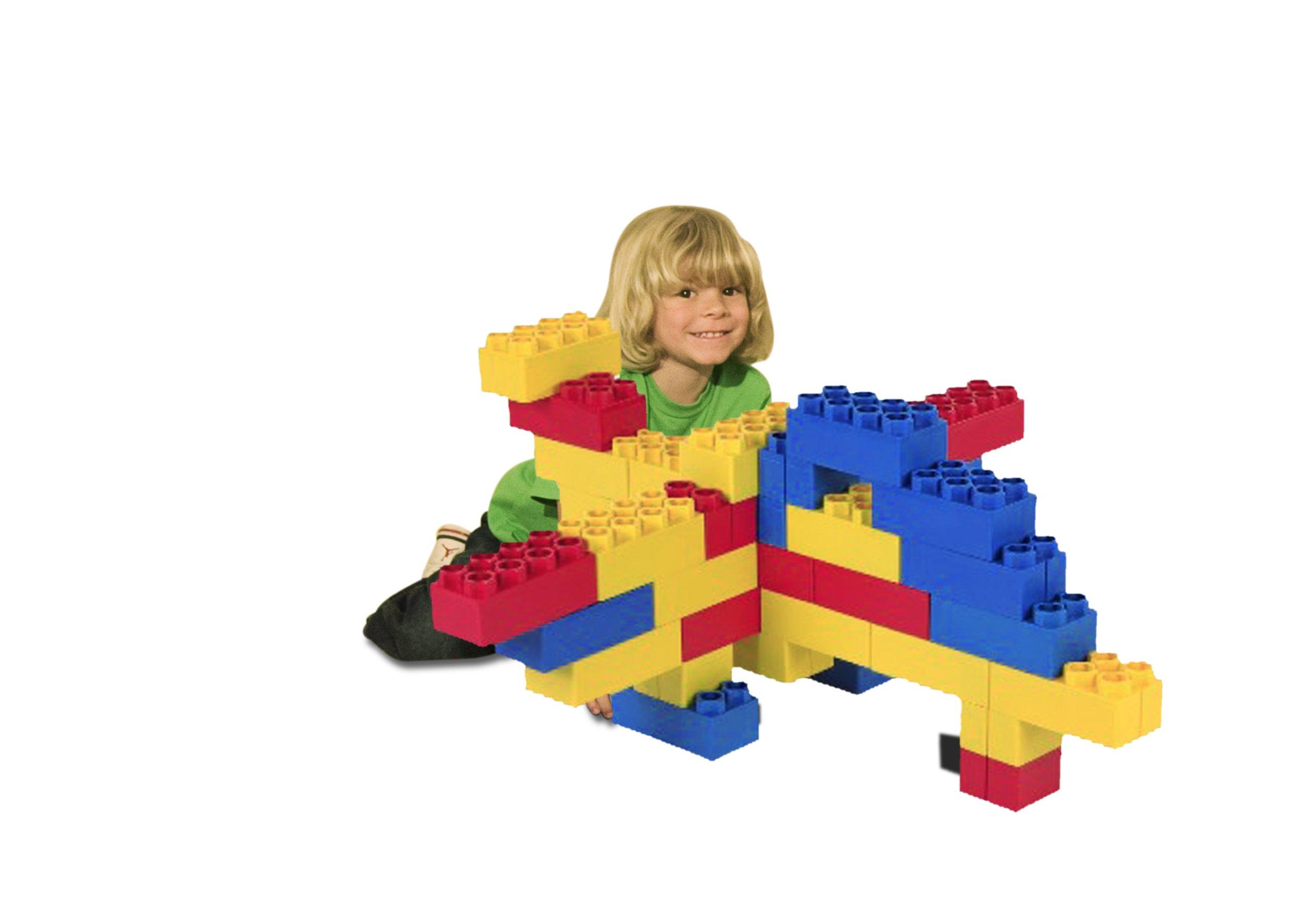 48pc Jumbo Blocks - Learner Set (Made in the USA)