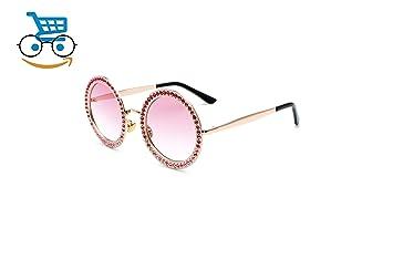 024280e2a383 Black Sale Friday Deals Cyber Deals Monday Deals Sales 2018-Round  Rhinestone Sunglasses for Women