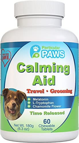 Particular Paws Calming Aid Dog Chewable Tablets