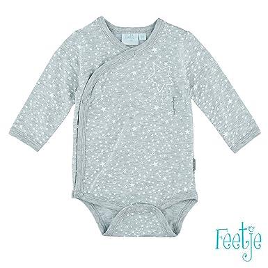 Feetje - Body - Bébé (garçon) 0 à 24 mois - Gris -  FEETJE  Amazon ... 133cba47ad2