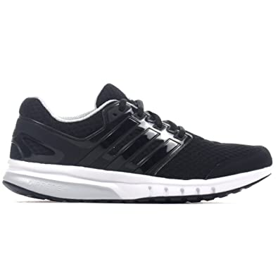 2 Adidas Shoe Galaxy 8 White Mens Running Uk Trainer Elite Black TcF1KJl