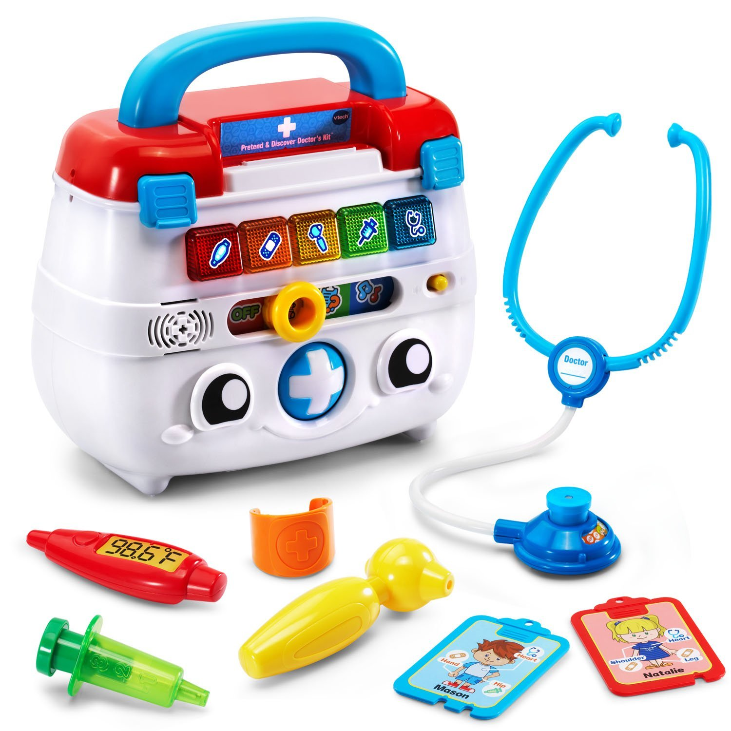 Amazon VTech Pretend and Discover Doctor s Kit Toys & Games