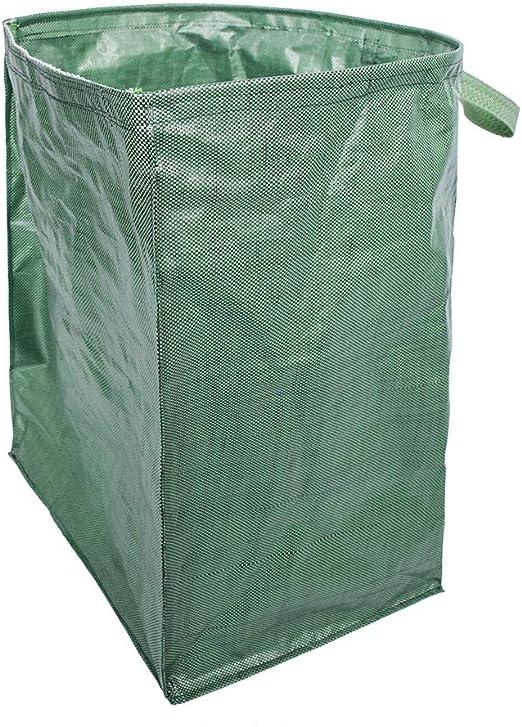 Saco de basura de jardín, saco de madera dura hecha de tela de lino resistente |