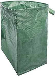 SNIIA Bolsas De Jardín Reutilizables De Gran Capacidad Bolsas De Desechos De Jardín Independientes Y Plegables Resistentes para Desechos De Jardín Follaje De Césped Limpio: Amazon.es: Hogar