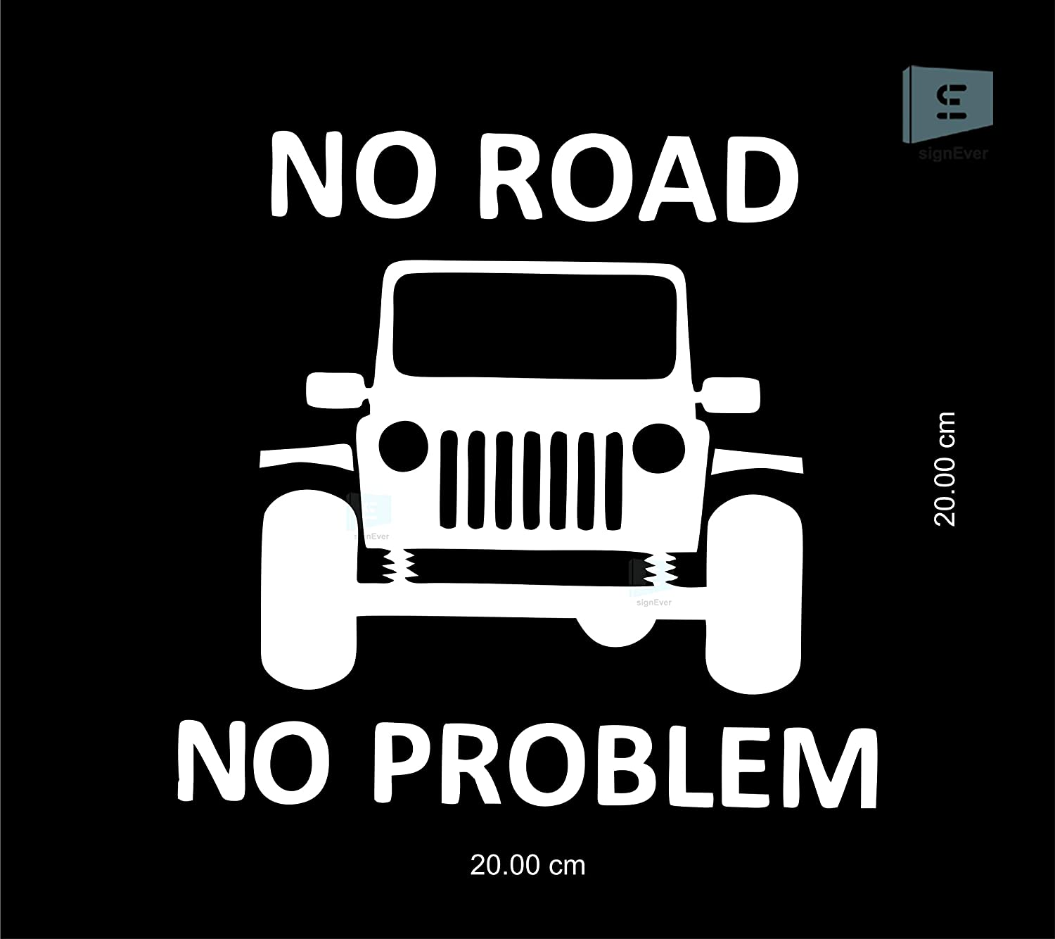 Jeep Problem//No problem  Decal Sticker Jeep Wrangler Rubicon decal Jeep Window
