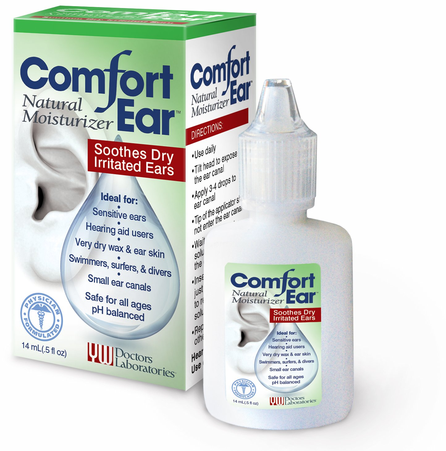 Comfort Ear Natural Moisturizer