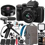 Panasonic DC-G100VK LUMIX G100 Mirrorless Camera 4K Video Vlogging Kit with 12-32mm Lens + DMW-SHGR1 Tripod Grip + 3…