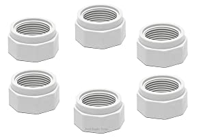 ATIE PoolSupplyTown Pool Cleaner Feed Hose Nut Fits Polaris 280, 380, 180 Pool Cleaner Feed Hose Nut D15 (6 Pack)