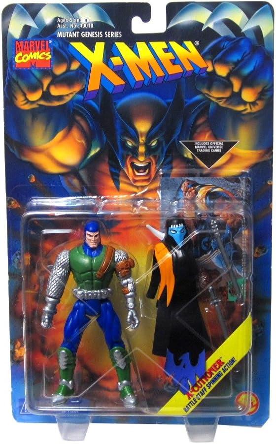 X-men Mutant Genesis Series: X-Cutioner with Battle Staff Spinning Action Figure