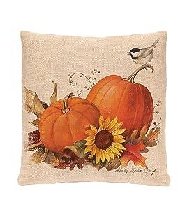 GBSELL Pillow Cover Owl Thanksgiving Turkey Cock Hen Pillow Case Sofa Throw Cushion Cover Home Decor,45cm45cm