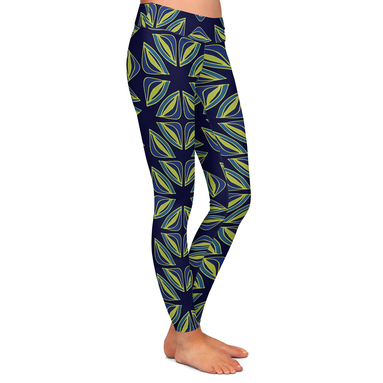 Athletic Yoga Leggings from DiaNoche Designs by Sue Brown Gervay Garden 7