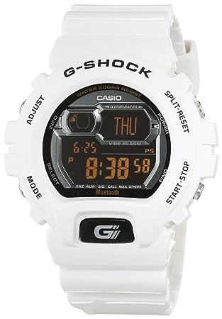 Casio G-Shock Negro, Blanco reloj inteligente - Relojes inteligentes (65 g,