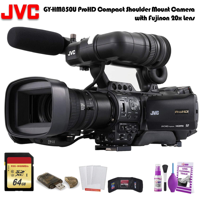 Amazon.com: JVC GY-HM850U ProHD - Cámara compacta de hombro ...