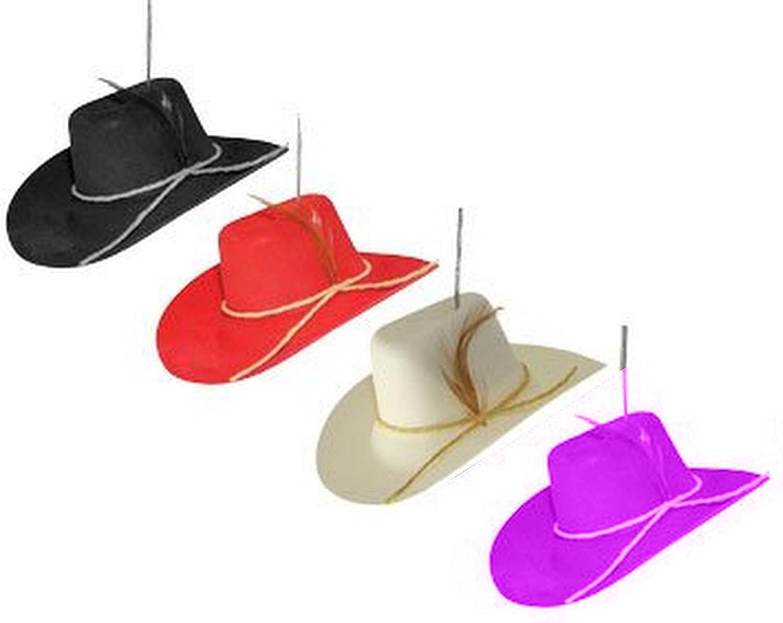 Amazing Cowboy hat Car /& Auto Rearview Mirror Hanging Ornament Car