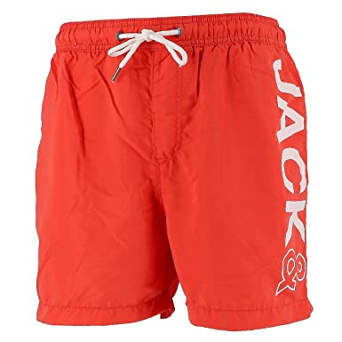 outlet online buy sale quality Jack and Jones - Sunset Fiery coralbain - Short de Bain