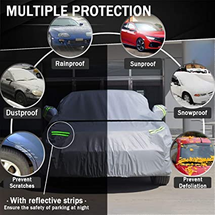 MGF MG TF Full Winter car Cover QUALITY 100/% WATERPROOF thick fabric heavy duty
